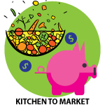 kitchen to market icon